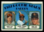1972 Topps #457   Padres Rookie Stars    -  Darcy Fast / Mike Ivie / Derrel Thomas Front Thumbnail