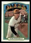 1972 Topps #477   Tom Phoebus Front Thumbnail