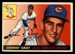 1955 Topps #101   Johnny Gray Front Thumbnail