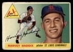 1955 #43  Harvey Haddix  Front Thumbnail