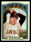 1972 Topps #412   Dick Kelley Front Thumbnail