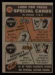 1972 Topps #174  In Action  -  Clay Kirby Back Thumbnail