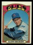 1972 Topps #45 COR  Glenn Beckert Front Thumbnail
