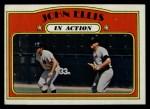 1972 Topps #48  In Action  -  John Ellis Front Thumbnail