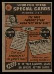 1972 Topps #32  In Action  -  Cleon Jones Back Thumbnail