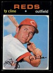1971 Topps #319   Ty Cline Front Thumbnail