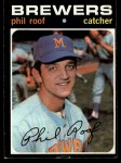 1971 Topps #22      -  Phil Roof Front Thumbnail