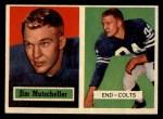 1957 Topps #103   Jim Mutscheller Front Thumbnail