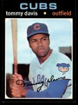 1971 Topps #151  Tommy Davis  Front Thumbnail