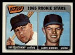 1965 Topps #409  Astros Rookies  -  Jim Beauchamp / Larry Dierker Front Thumbnail