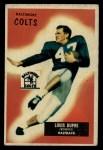 1955 Bowman #160  Louis Dupre  Front Thumbnail