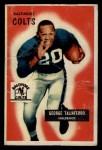 1955 Bowman #97  George Taliaferro  Front Thumbnail