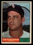 1961 Topps #65  Ted Kluszewski  Front Thumbnail