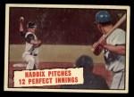 1961 Topps #410  Haddix Pitches 12 Perfect Innings  -  Harvey Haddix Front Thumbnail