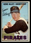 1967 Topps #283   Gene Alley Front Thumbnail
