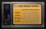 1963 Topps #553  Rookies  -  Willie Stargell / Jim Gosger / Brock Davis / John Herrnstein Back Thumbnail