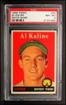 1958 Topps #70 WN  Al Kaline Front Thumbnail