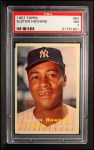 1957 Topps #82  Elston Howard  Front Thumbnail