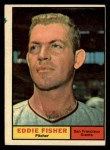 1961 Topps #366  Eddie Fisher  Front Thumbnail