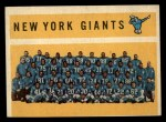 1960 Topps #82  Giants Team Checklist  Front Thumbnail