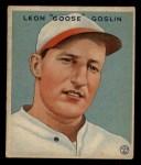 1933 Goudey #110   Goose Goslin Front Thumbnail