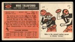1965 Topps #128   Mike Taliaferro Back Thumbnail