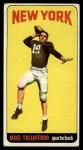 1965 Topps #128   Mike Taliaferro Front Thumbnail