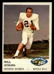 1961 Fleer #141   Bill Atkins Front Thumbnail
