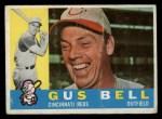 1960 Topps #235  Gus Bell  Front Thumbnail