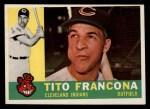 1960 Topps #30   Tito Francona Front Thumbnail