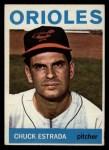 1964 Topps #263  Chuck Estrada  Front Thumbnail