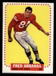 1964 Topps #89  Fred Arbanas  Front Thumbnail
