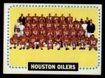1964 Topps #88   Houston Oilers Front Thumbnail