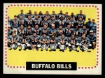 1964 Topps #43   Buffalo Bills Front Thumbnail