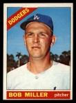 1966 Topps #208  Bob Miller  Front Thumbnail