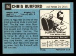 1964 Topps #94  Chris Burford  Back Thumbnail