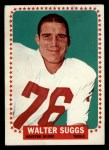 1964 Topps #84  Walt Suggs  Front Thumbnail