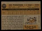 1960 Topps #442   Joe Pignatano Back Thumbnail