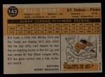 1960 Topps #142  Rookies  -  Bill Short Back Thumbnail