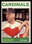1964 Topps #160  Ken Boyer  Front Thumbnail