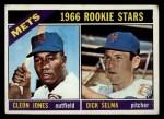 1966 Topps #67  Mets Rookies  -  Cleon Jones / Dick Selma Front Thumbnail