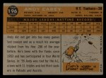 1960 Topps #196   Andy Carey Back Thumbnail