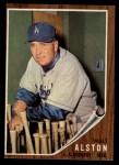 1962 Topps #217  Walt Alston  Front Thumbnail
