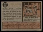 1962 Topps #490   Clete Boyer Back Thumbnail