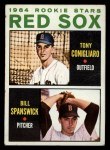 1964 Topps #287   -  Tony Conigliaro / Bill Spanswick Red Sox Rookies Front Thumbnail