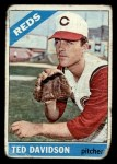 1966 Topps #89   Ted Davidson Front Thumbnail