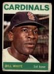 1964 Topps #240  Bill White  Front Thumbnail