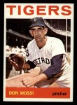 1964 Topps #335   Don Mossi Front Thumbnail