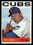 1964 Topps #375   Ron Santo Front Thumbnail