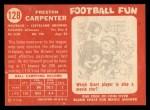 1958 Topps #128   Preston Carpenter Back Thumbnail